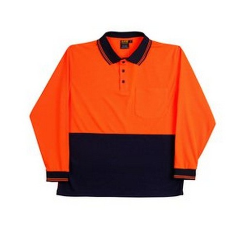 Aiw Long Sleeve Hi Vis With Your Company Logo B Protected
