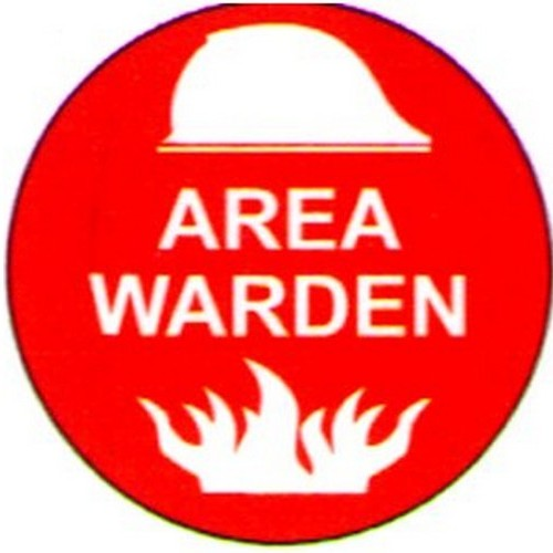 Area Warden Labels