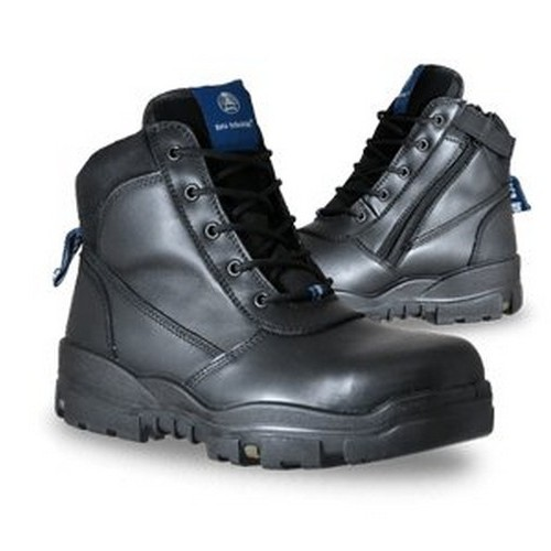 Bata Black Safety Boots