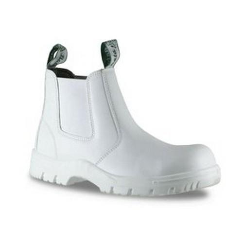 Bata White Food Boots