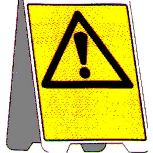 Blank Warning A Frame