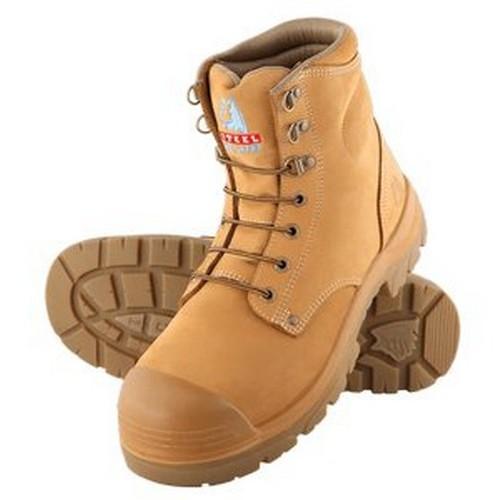 Bump Cap Argyle Safety Boots