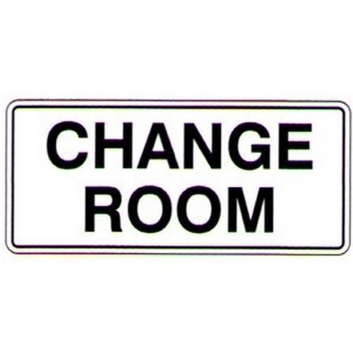 Change Room Sign
