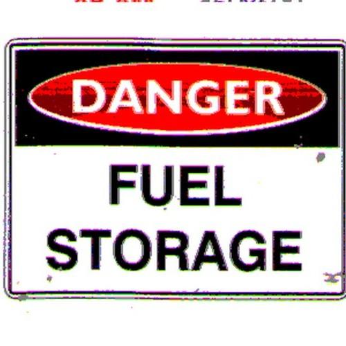 Danger Fuel Storage Sign