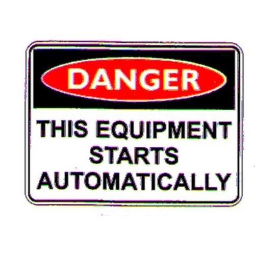 Danger This Equipment Labels