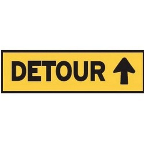 Detour Up Multi Message