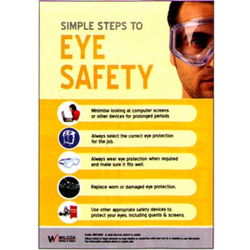 Eye Safety Poster With Australia Wide Delivery B Protected