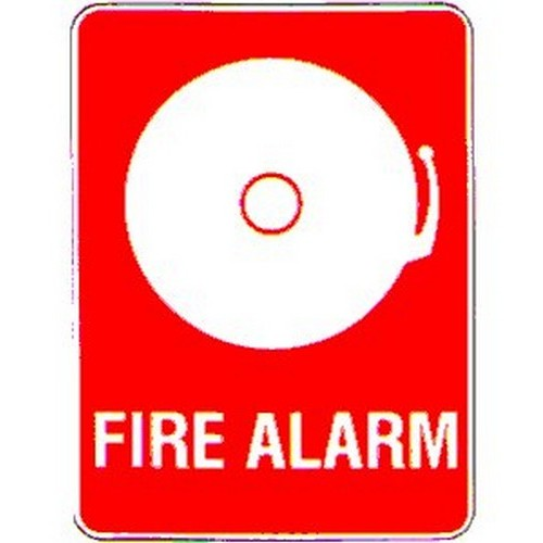 Fire Alarm Symbol Sign With Australia Wide Delivery B Protected