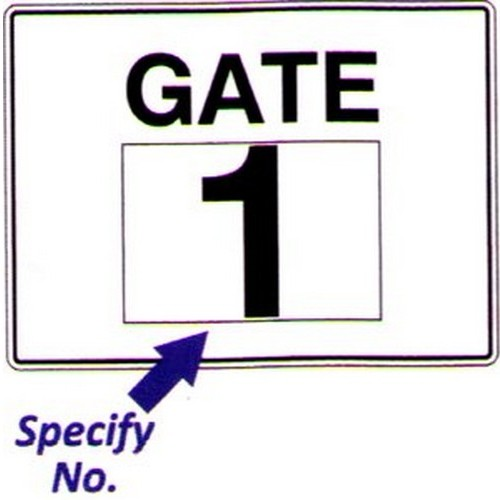 Gate With Number Sign