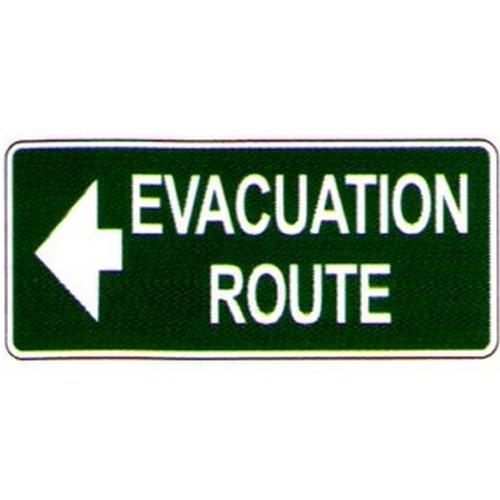 Luminous Evac Route Label