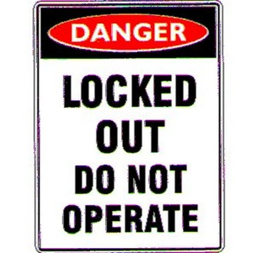 Magnetic Danger Locked Out