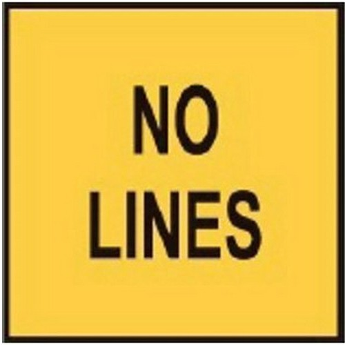 No Lines Signs Multi Message