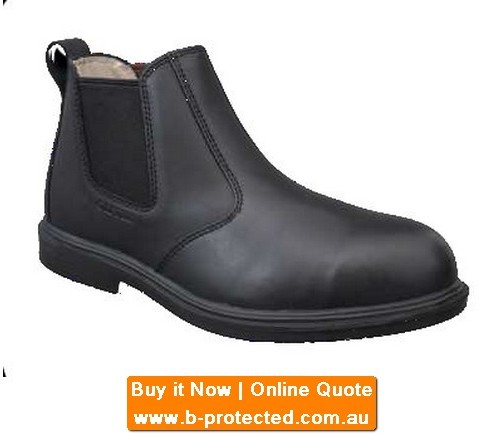 Elastic Sided Executive Safety Boots