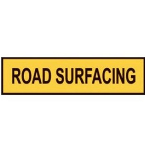 Road Surfacing Multi Message
