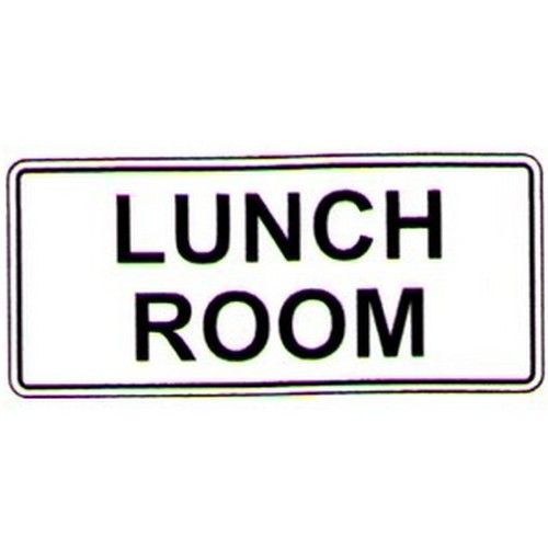 Stick Lunch Room Label