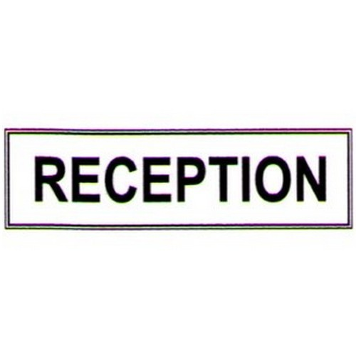 Stick Reception Label