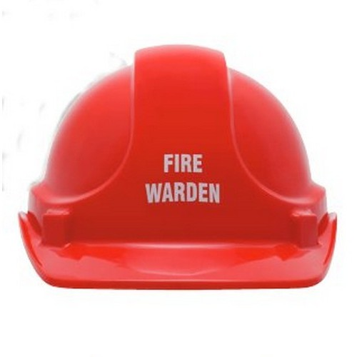 Fire Warden Helmet With Australia Wide Delivery B Protected
