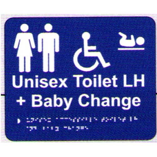 Unixex Dis ChRoom LH Braille Sign