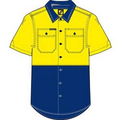 Workcraft 2 Tone Shirt