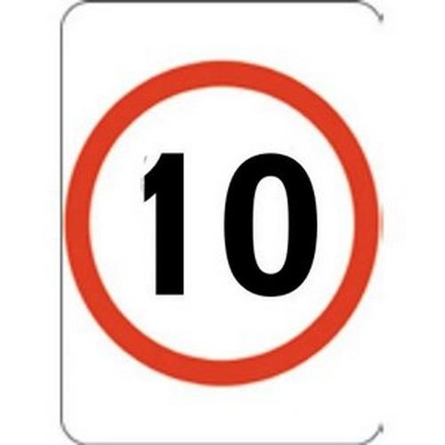 10k Speed Restriction 450 X 60