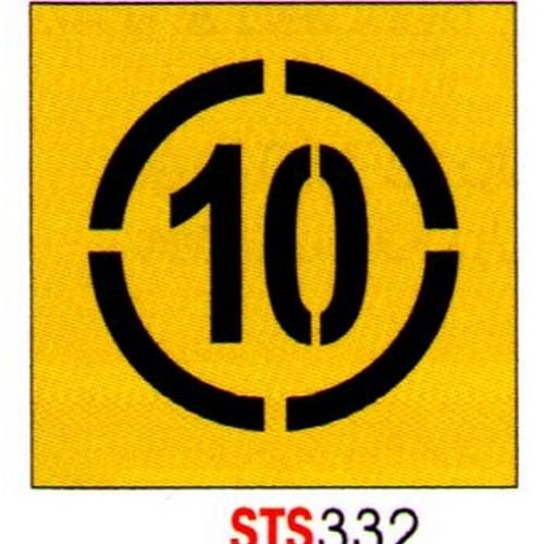 10km Stencil