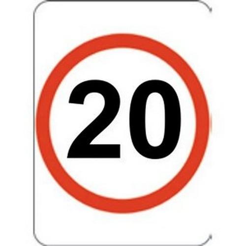 20k Speed Restriction 450 X600