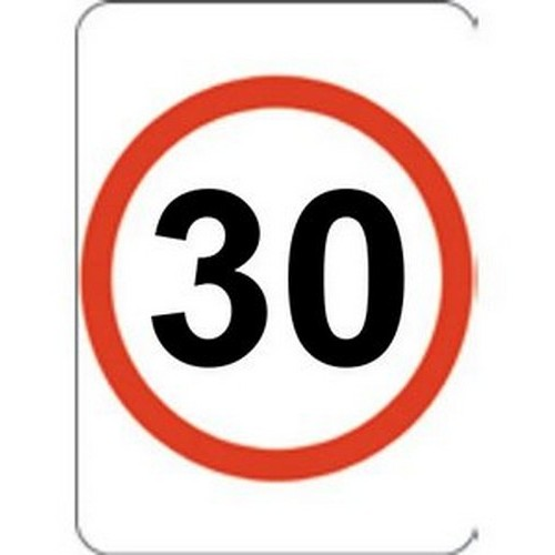 30k Speed Restriction 450 X600