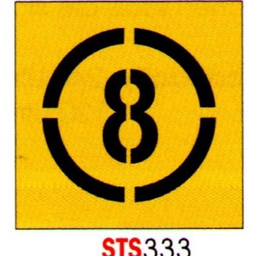 8 Km Stencil