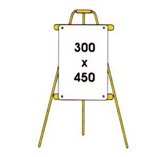 A Frame Tripod For Signs
