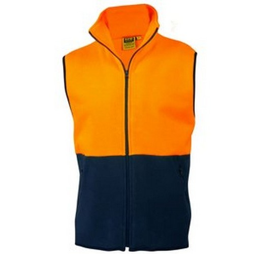 AIW Fleece Hi Vis Vest