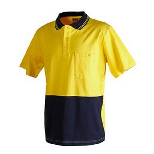 AIW Hi Vis Cotton Polo
