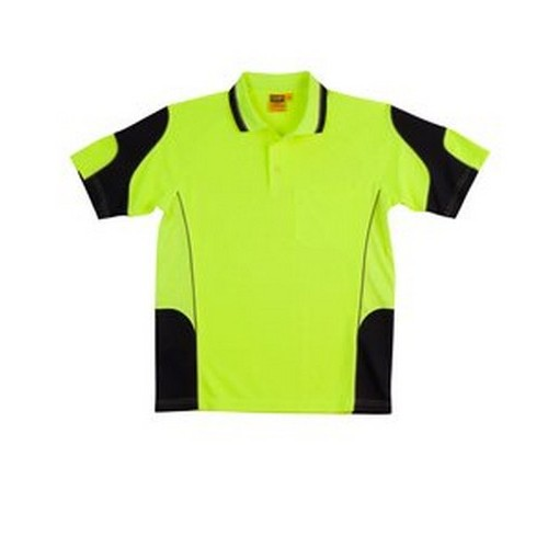AIW Waffle Safety Polo