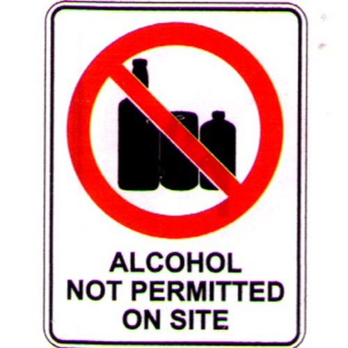 Alcohol Not Perm Sign