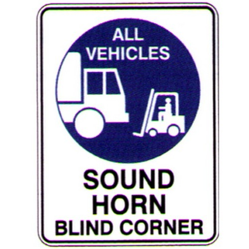 All Vehicles Sound Blind Cnr Sign