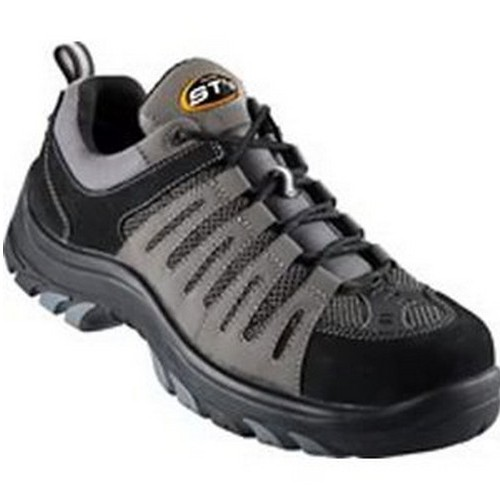 Black With Orange Trim Safety Shoes Australia