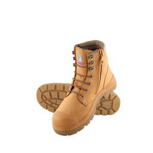 Argyle Zip Bump Safety Boots