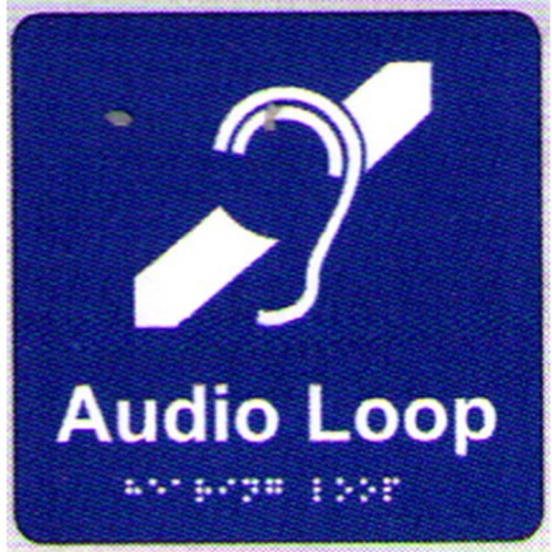 Audio-Loop-Braille-Sign