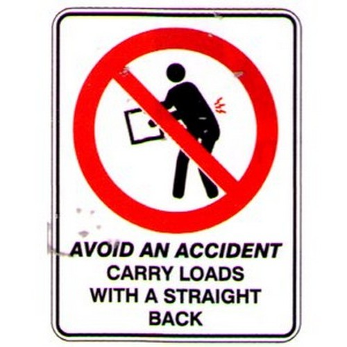 Avoid-Carry-Loads-Sign