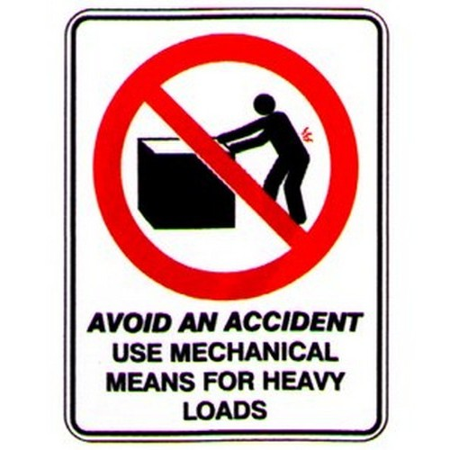 Avoid-Use-Mechanical-Means-Sign