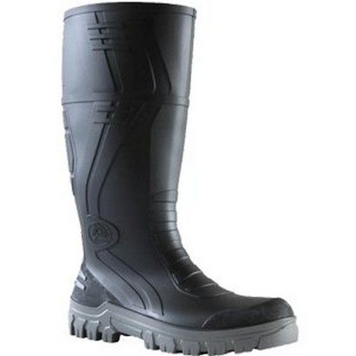 Bata Black Grey Boots