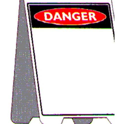 Blank Danger A Frame
