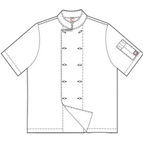 Chefcraft Short Sleeve Jacket