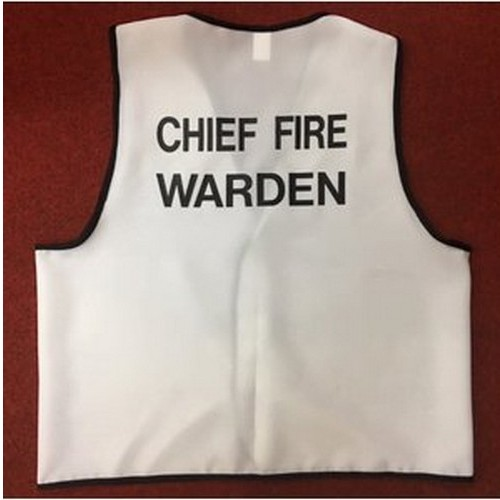 Cheif Fire Warden Vest