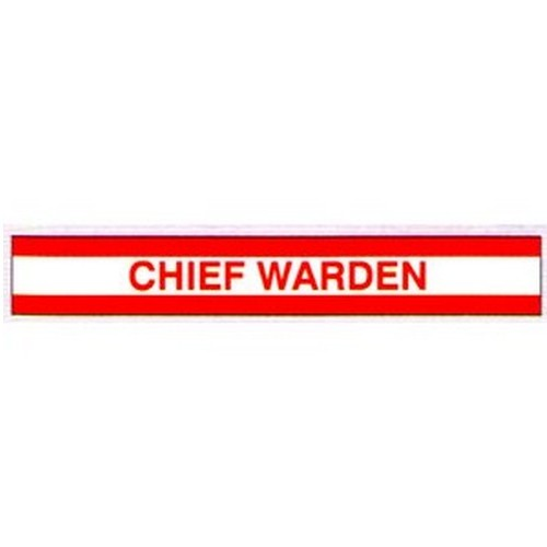 Chief Warden Arm Bands