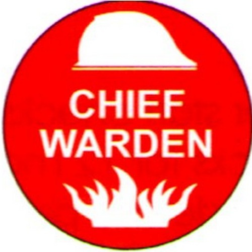 Chief Warden Labels
