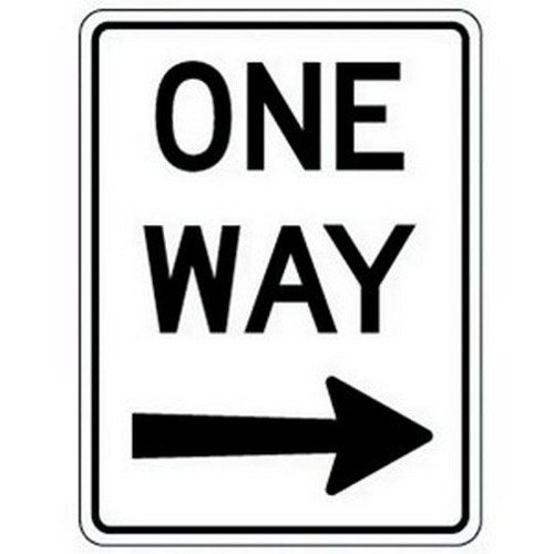 Class 1 One Way Right 450 X600