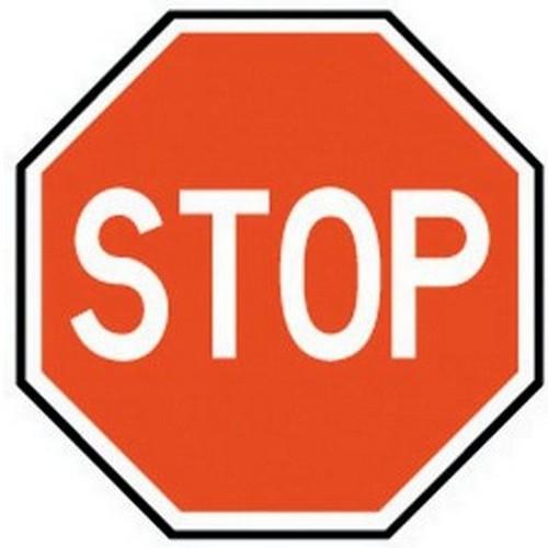 Class 1 Stop Sign 600 X 600