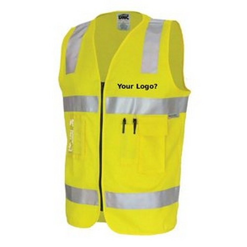 Cotton Yellow Vest