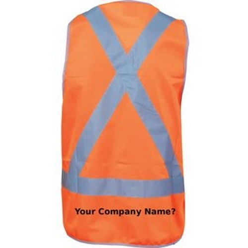 Cross Pattern Safety Vest