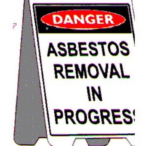 Danger Asbestos Removal A Frame
